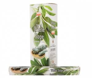 Bilde av Darshan White Sage Incense 20 Stick Hex Pack