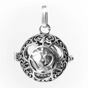 Bilde av Anheng Pendant Ohm harmony ball silver colour