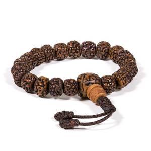 Bilde av Mala/bracelet polished rudraksha 21 beads