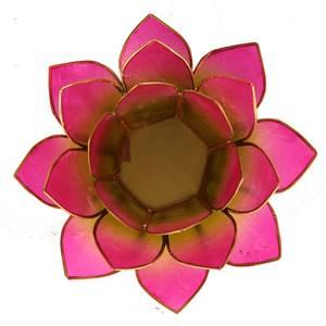 Bilde av Lotus telysholder /Candle light Holder Capiz