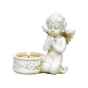 Bilde av Two angels with candle holders