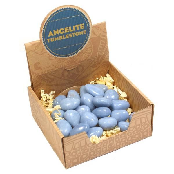Angelitt Tromlet Medium AAA-kvalitet