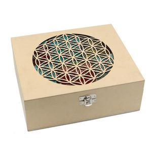 Bilde av Te organisk i Livets Blomst eske - Tea box with