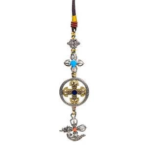 Bilde av Protective pendant double dorje with kartika