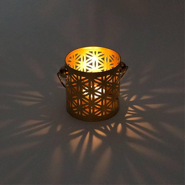 Telysholder/Atmospheric lighting Flower of life