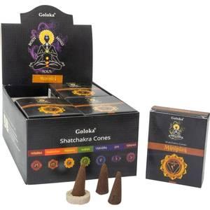Bilde av Goloka Shatchakra Cones in Display Box of 10