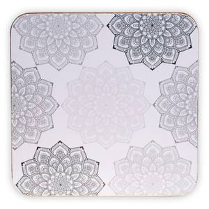 Bilde av Coasters Mandala grey set of 6