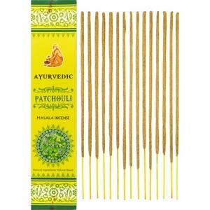 Bilde av Ayurvedic Patchouli Masala Incense Sticks 15gms