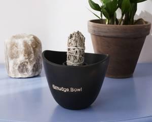 Bilde av Smudge Bowl Large Black