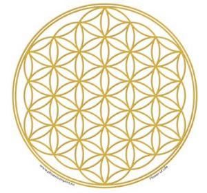Bilde av Flower of life sticker