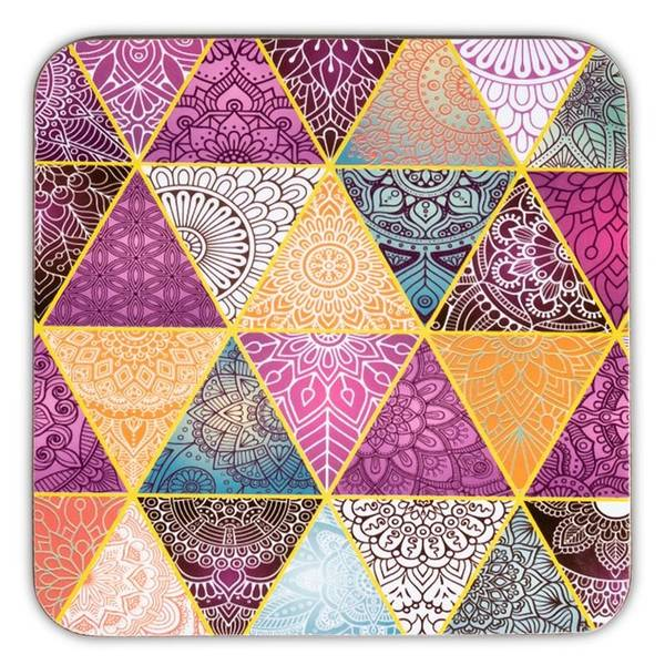 Coasters Patchwork set of 6