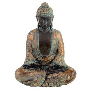 Bilde av Meditasjon Buddha, antikkfinish Japan 24cm