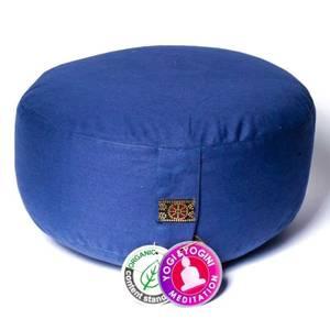 Bilde av  Meditation Cushion slate blue organic cotton