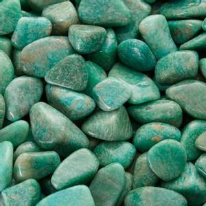 Bilde av Amazonitt Amazonite Tromlet Stor (XL) AA-kvalitet
