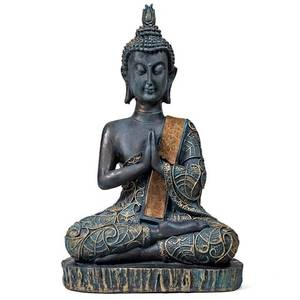 Bilde av Praying Buddha antique look Thailand 22 cm