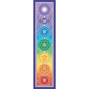 Bilde av Bumpersticker Rainbow Chakra