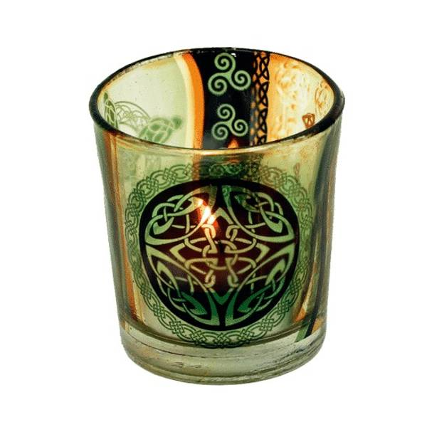 Atmospheric Light Celtic Button