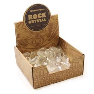 Bilde av Bergkrystall Tromlet  AA-kvalitet / Rock Crystal