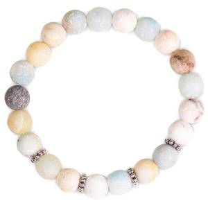 Bilde av Mala/bracelet amazon stone elastic