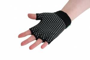 Bilde av Yoga hansker|Black Grippy Yoga Gloves