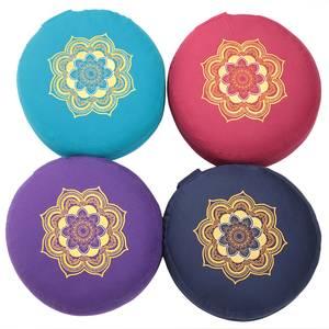 Bilde av Mandala Gold - Meditasjonspute | Yogapute Rund -
