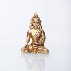 Bilde av Buddha statue, brass, approx. 8 cm approx. 200 g