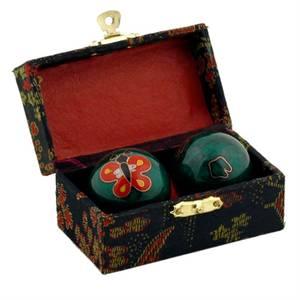 Bilde av Meditasjonskuler - Health Balls Butterfly -