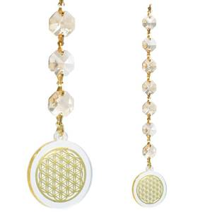 Bilde av Feng Shui Flower of Life champagne coloured