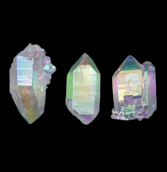 Angel Aura Quartz Crystal Points (M)