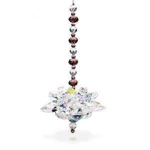 Bilde av   Feng Shui crystal lotus 10 cm