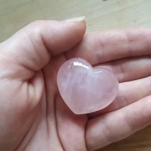Bilde av Rosenkvarts hjerte 3 cm