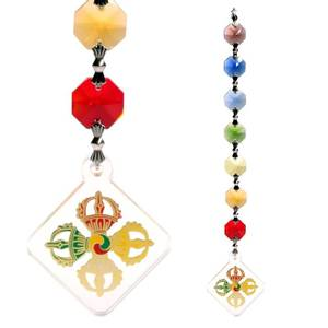 Bilde av Feng Shui Vajra protection pendant decoration