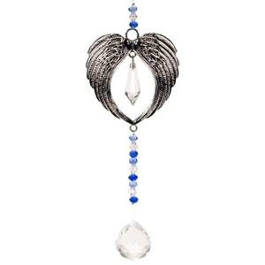 Bilde av Feng Shui decoration angel wings and crystal ball