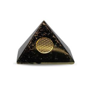 Bilde av Orgonite Pyramid- Black Tourmaline, Flower Of