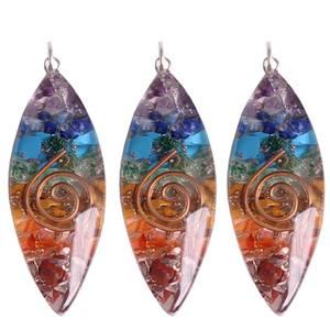 Bilde av Orgonitt/Orgonite oval shaped pendant