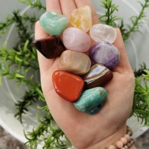 Bilde av Get Up & Go Healing Crystal Kit