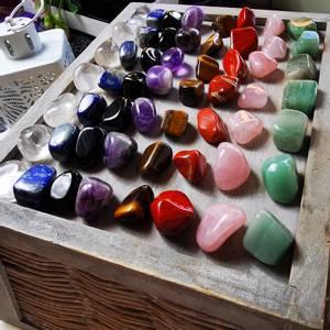 Bilde av Chakra Steiner Sett Stor / Chakra Stones Healing