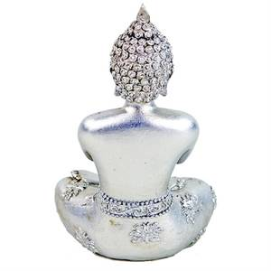 Bilde av Praying Buddha silver-colored Thailand 12cm