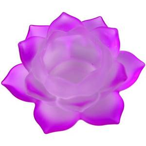 Bilde av Atmospheric lighting Lotus glass purple