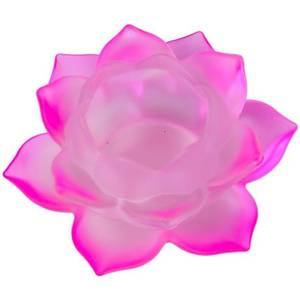 Bilde av Atmospheric lighting Lotus glass pink