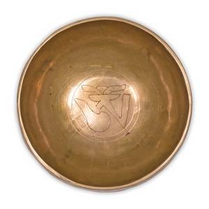 Bilde av Tibetansk syngebolle OHM (gravering) 300-375grams
