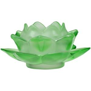 Bilde av Atmospheric lighting Lotus glass green