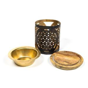 Bilde av Aromafume oil burner Flower of life
