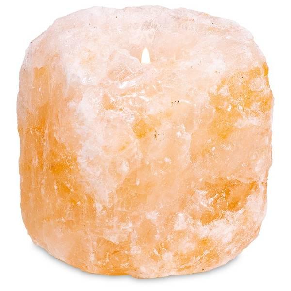 Himalaya Saltkrystall Telysholder