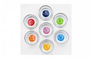 Bilde av Glass Mythos sett 7 chakra affirmasjoner 0,25