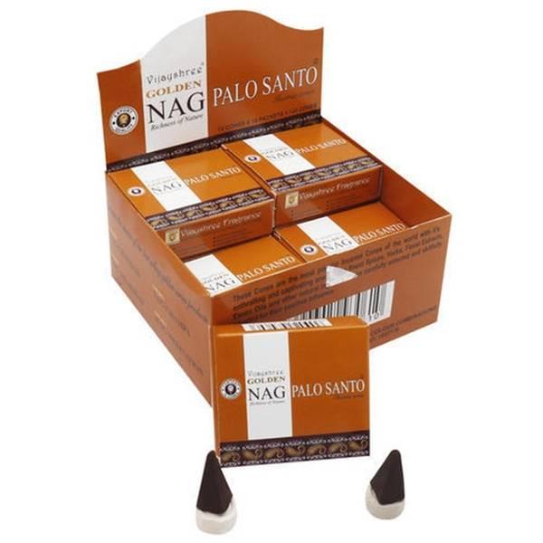 Incense cones Golden Nag Palo Santo