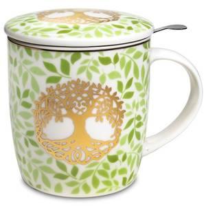 Bilde av Gift box Tea Infuser Mug Tree of Life