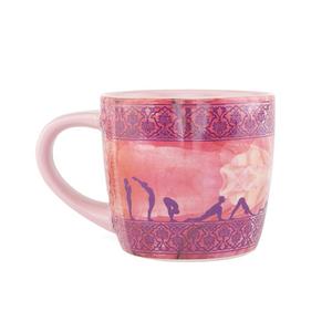 Bilde av Yoga Krus/YogiMug Ceramic Mug Sun Salutation