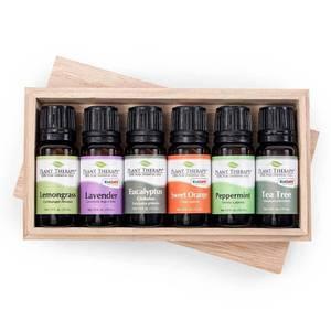 Bilde av Gavepakning eteriske oljer 10ml - Breathe Easy