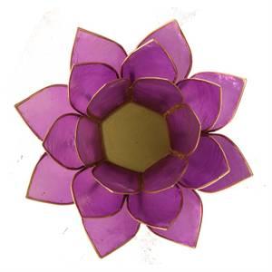 Bilde av Lotus telysholder/Lotus atmospheric light lilac